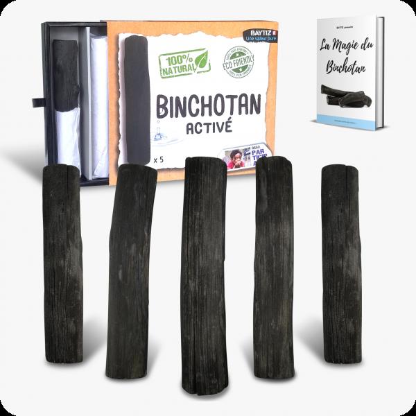 baton de charbon actif pour filtrer l'eau naturellement binchotan